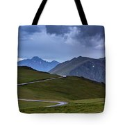 On Top Of The World Tote Bag by John De Bord