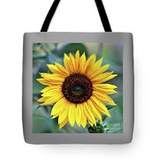 One Bright Sunflower Tote Bag