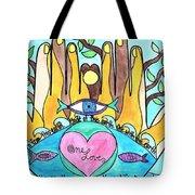 One Love One Earth Tote Bag
