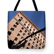 One Way Golden Architecture  Tote Bag