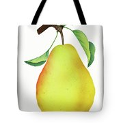 One Yellow Juicy Pear Tote Bag