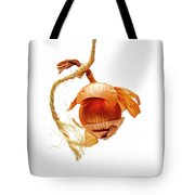 Onion On A White Background Tote Bag