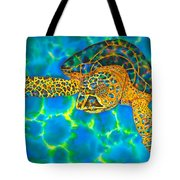 Opal Sea Turtle Tote Bag