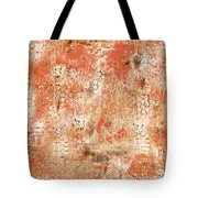 Orange Day Today Tote Bag