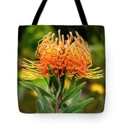 Orange Protea Tote Bag
