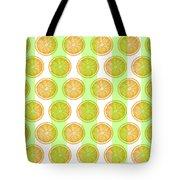 Orange Slice Pattern 2 - Tropical Pattern - Tropical Print - Lemon - Orange - Fruit - Tangerine Tote Bag