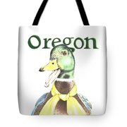 Oregon Duck Tote Bag