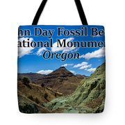 Oregon - John Day Fossil Beds National Monument Blue Basin Tote Bag