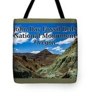 Oregon - John Day Fossil Beds National Monument Blue Basin Tote Bag