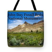 Oregon - John Day Fossil Beds National Monument Sheep Rock 1 Tote Bag
