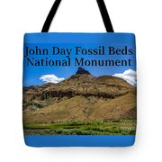 Oregon - John Day Fossil Beds National Monument Sheep Rock 2 Tote Bag