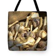 Organic Garlic Tote Bag