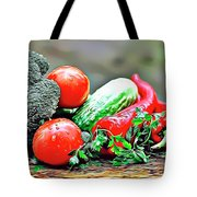 Organic Veg Tote Bag