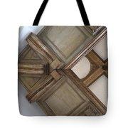 Wood Ornament Tote Bag