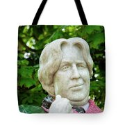 Oscar Wilde Statue One  Tote Bag