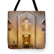 Our Lady Of The Universe Cathedral Tote Bag