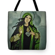 Our Lady Of Veteran Suicide Tote Bag by MB Dallocchio