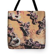 Outlaw Frontiers Tote Bag