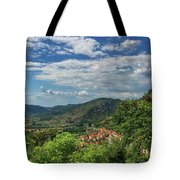 Over Roccassecca  Tote Bag