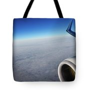 Over The Sky Tote Bag