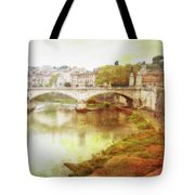Over The Tiber Tote Bag