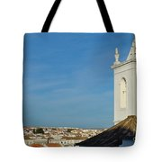 Overview Of Tavira City. Portugal Tote Bag