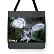 Owls Mascot 2 Tote Bag