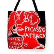 Pablo Picasso Attack 6 Tote Bag