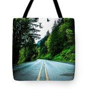 Pacific Northwest Road Tote Bag
