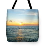 Pacific Ocean Sunset Tote Bag