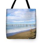 Pacifica Municipal Pier - California Tote Bag