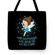 Pacifier Fairy Gift Idea Paci Fairy For Girlsboys Tote Bag