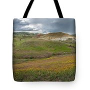 Painted Hills Bloom Tote Bag by Matthew Irvin