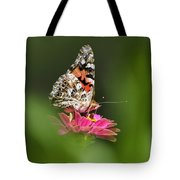 Painted Lady Butterfly At Rest Tote Bag