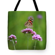 Painted Lady Butterfly Beauty Tote Bag