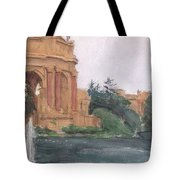 Palace Of Fine Arts, 2018 Tote Bag
