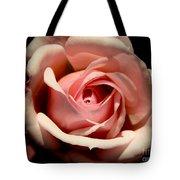 Pale Pink Rose Tote Bag