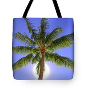 Palm Tree Sun Tote Bag by Patti Deters