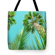 Palm Trees I Tote Bag by Anne Leven