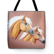 Palomino Pair Tote Bag