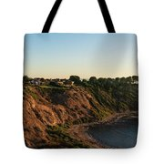 Palos Verdes Sundown Tote Bag by Michael Hope