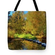 Palouse River Reflections Tote Bag