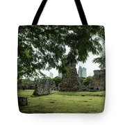 Panama Viejo Tote Bag