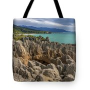 Pancake Rocks - New Zealand Tote Bag