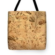 Paper Petal Patterns Tote Bag