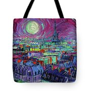 Paris By Moonlight Tote Bag