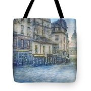 Paris, Rue Du Haut Pave 1866 Tote Bag