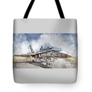 Parked Hornet Tote Bag
