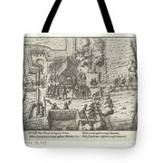 Parma Knighted In The Order Of The Golden Fleece, 1585, Anonymous, After Frans Hogenberg, 1613 - 161 Tote Bag