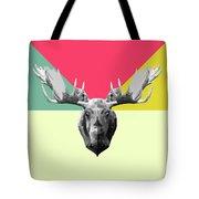 Party Moose Tote Bag